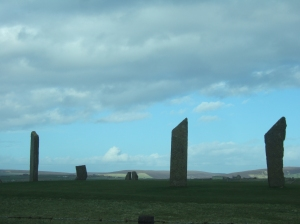 Standing Stones of Stenness Orkney Islands
