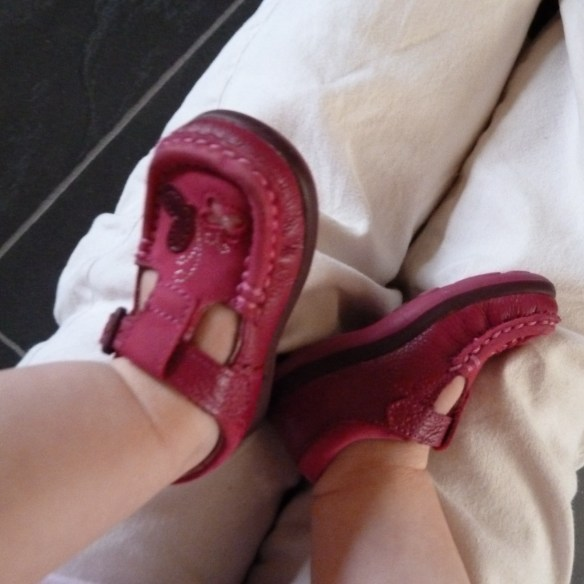 Pink Baby Shoes