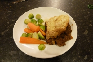 steak and kidney suet crust pastry