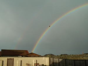 double rainbow easter