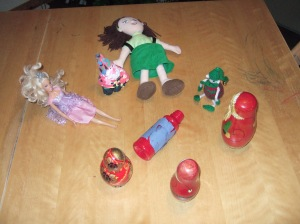 Dec 23 - had to explain to mystified minxes what Spin The Bottle game was all about