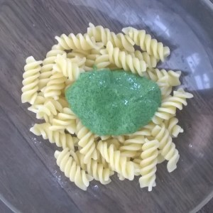 The imaginatively-named Green Pasta Sauce
