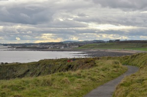 view back to Arbroath