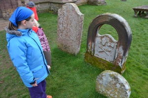 Maxi reckons this must be a pirate's grave, lol