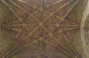 Melrose Abbey roof